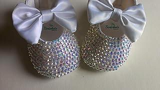 Zapatos de bautizo con cristales