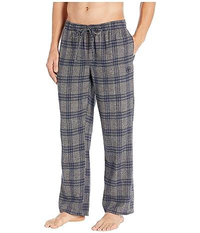 Ariat Flannel Pajama Pants (Heather Grey Plaid) Men