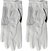 دستکش زنانه FootJoy WeatherSof Golf Golf، Pack 2 (White)