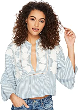 Free People - Liya Embroidered Tunic