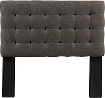 Republic Design House Manhattan Headboard, Grey, Queen/Full