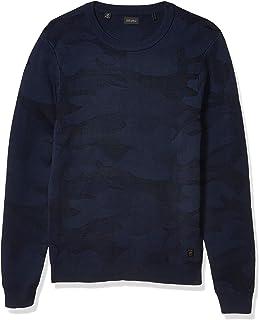 Buffalo David Bitton Men's Long Sleeve Softner wash Regular fit Sweater