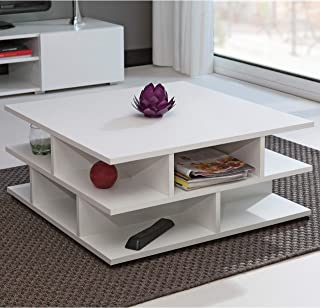 Marca Amazon - Movian Segre - Mesa de centro, 70 x 70 x