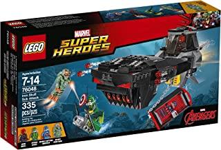 LEGO Super Heroes Iron Skull Sub Attack Building Kit (335 Piece)