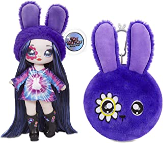 Best MGA Entertainment Na Na Na Surprise 2-in-1 Melanie Mod Fashion Doll & Plush Purse Series 4 – Soft Wallet Bag Pouch Gifts for Kids Girls Key Chain Pom Review