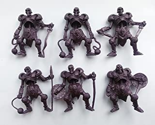 Skeletons 54 mm 1/32 - 6 Fantasy Figures Tehnolog Fantasy Battles Russian Toy Soldiers