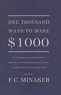 100 ways to make 1000 dollars