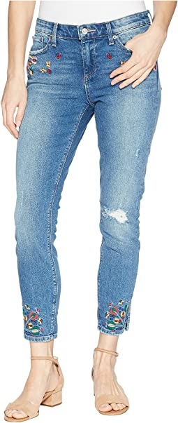 Ava Skinny Embroidered Jeans in Macedonia