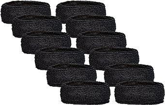 حزام يد رياضي فريد 2.5 سم ذو عضلات الذراع (6 أزواج)