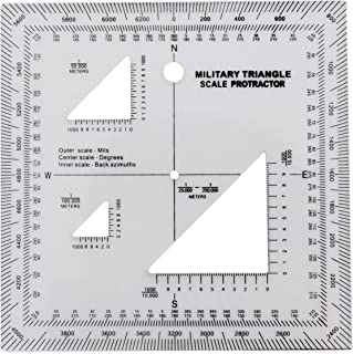 utm ruler for topographic maps