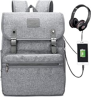 Laptop Backpack Travel Computer Backpack College Bookbag Vintage Backpack