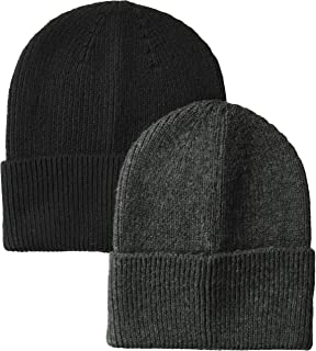 Men's 2-Pack Knit Beanie Hat
