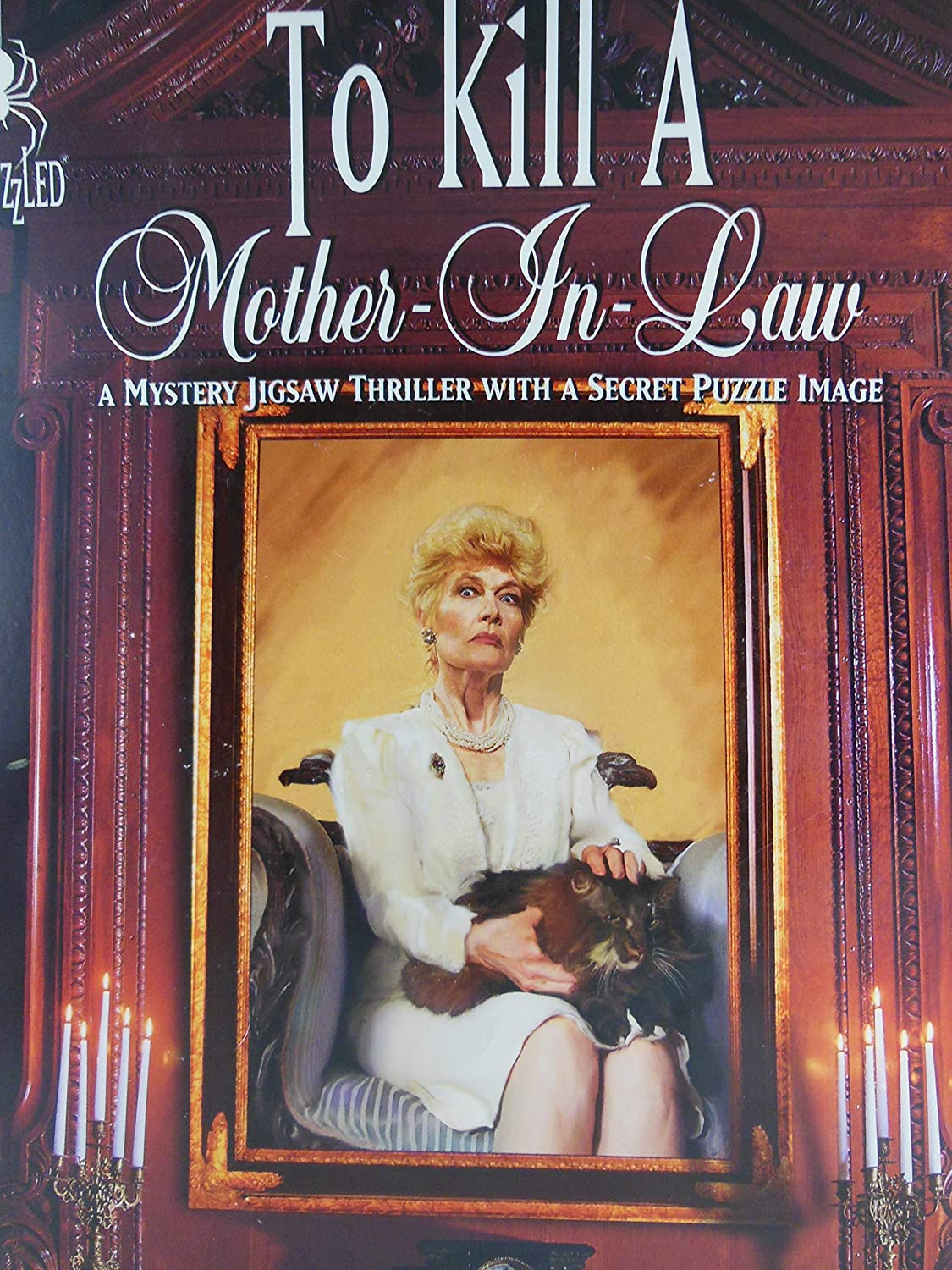 To Kill A MotherInLaw A Murder by Larry Zacher; 1000 Piece Mystery Jigsaw Puzzle by Bepuzzled