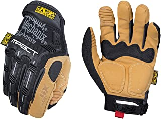 Mechanix Wear – Material4X M-Pact Work Gloves (Medium, Brown/Black)