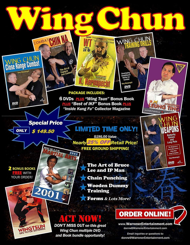 Wing Chun Box Set 6 Book bonus plus Large-scale sale Super Special SALE held DVDs