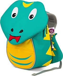 Affenzahn Kindergarten Kids Backpack for Girls and Boy from 1-3 Years Old Samuel Snake Turquoise