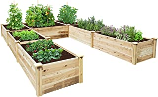 u shaped raised garden