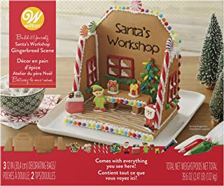 Wilton Build-it-Yourself Gingerbread Scene Decorating Kit