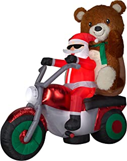 Best inflatable santa on motorcycle for sale Reviews