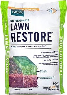 Safer Brand 9334 Lawn Restore Fertilizer – 25 lb,White