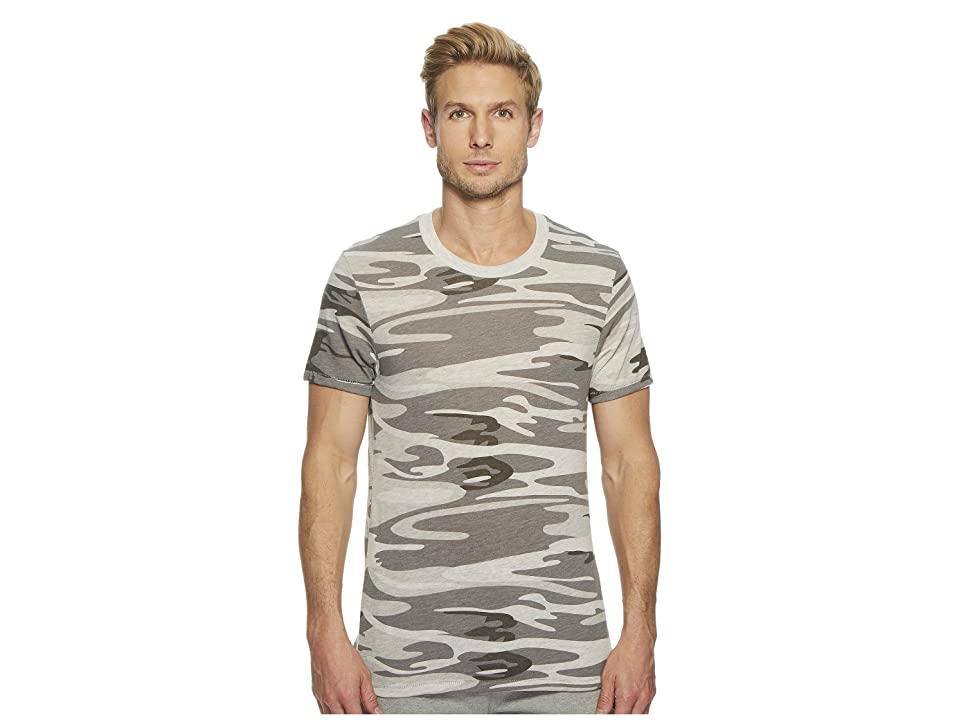 Alternative Eco Crew (Oatmeal Camo) Men