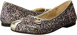 Little Marc Jacobs - Glittery Mouse Ballerinas (Toddler/Little Kid/Big Kid)