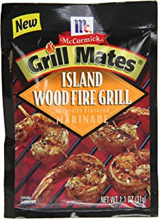 McCormick Grill Mates Island Woodfire Marinade, 1.1 oz (Pack of 12)