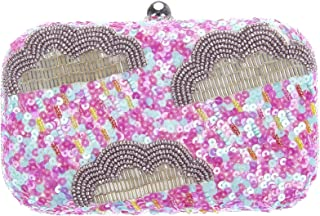From St Xavier Women's Arcus Clutch, Pink/Blue, One Size