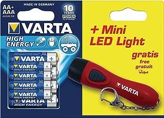 Varta Alkaline Battery AA High Energy 8-Promotional Blister [VARTA-92400]