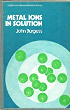 Burgess Metal ∗ions∗ In Solution