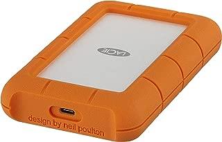 LaCie 1?TB 堅固迷你 USB 便攜式外置硬盤適用于 PC 和 MAC