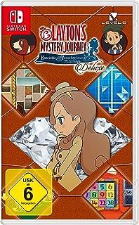 Layton's Mystery Journey: Katrielle und die Verschwörung der Millionäre - Deluxe. Nintendo Switch