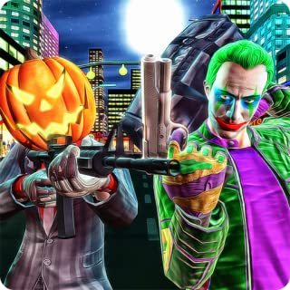 Halloween Gangsters Robbery Grand Theft Heist Fight Simulator 3D: Crime City Criminals Police Vs Robbers Mafia Gangsters Adventure Action Simulator Action Game Free For Kids 2018