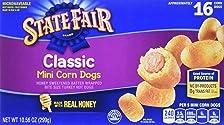 State Fair, Mini Corn Dogs, Classic, 16 Count (frozen)