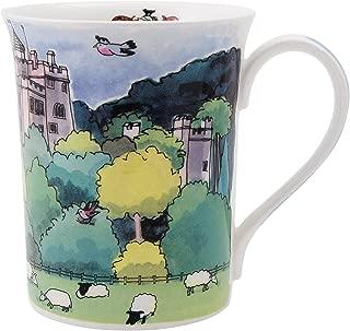 Alison Gardiner National Trust range - Dunster Castle Fine Bone China Mug