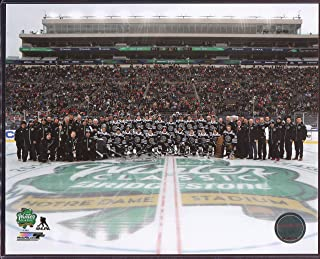 Chicago Blackhawks Team 2019 Winter Classic Officially Licensed 8x10 Photo with Toploader