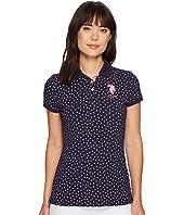 U.S. POLO ASSN. - Leaf Bud Polo Shirt