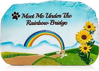 Humane Goods Rainbow Bridge Pet Memorial Stone - 9