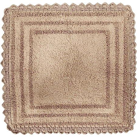 2pcset Handmade Crochet Ovel Rug Crochet Bathroom Cotton Rug Country Cottage Bathmat Red Rug Indoor Outdoor Cotton Mat