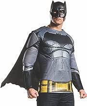 Rubie's Men's Batman v Superman: Dawn of Justice Batman Muscle Chest Top