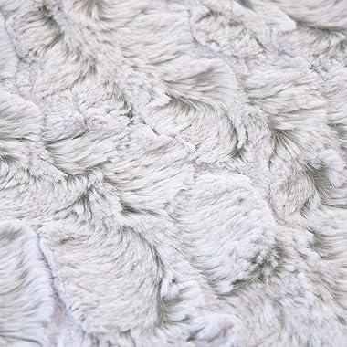 EZ Fabric Tip-Dyed Bella, White/Silver