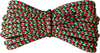red black and green shoe laces