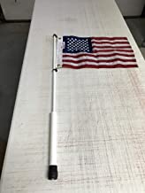 South Wind Designs Boat Flagpole and American Flag Combo (3 Foot Pole)