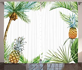 island style curtains