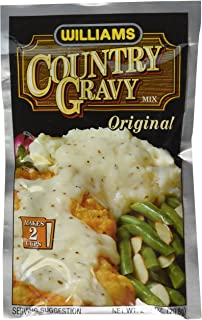 Williams Country Gravy Mix 2 Ounces (Pack of 12)