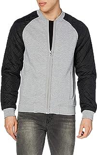 Urban Classics Men's Diamond Nylon Sweatjacket Jacket