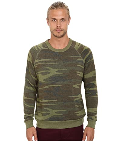 Alternative Printed Champ Eco Fleece Sweatshirt (Camo) Men
