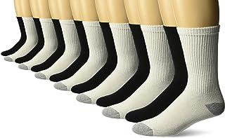 Gildan Men's Crew Socks (10 Pair Pack)