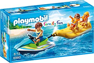 Playmobil 6980 Family Fun Floating Personal Watercraft with Banana Boat