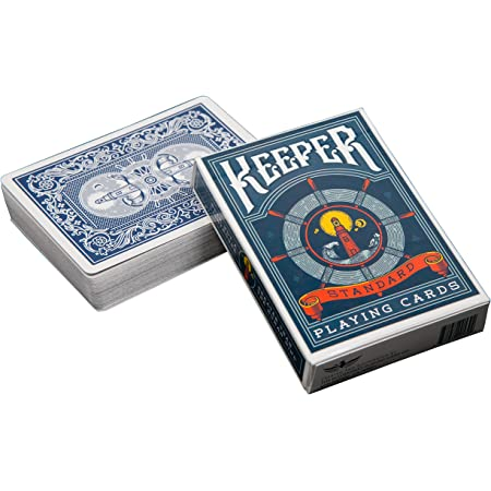 Ellusionist Keepers Playing Cards Deck - Blue